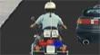 שוטר על אופנוע
